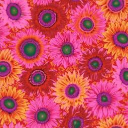 Tissu Kaffe Fassett -  PWPJ111 Van Gogh Red