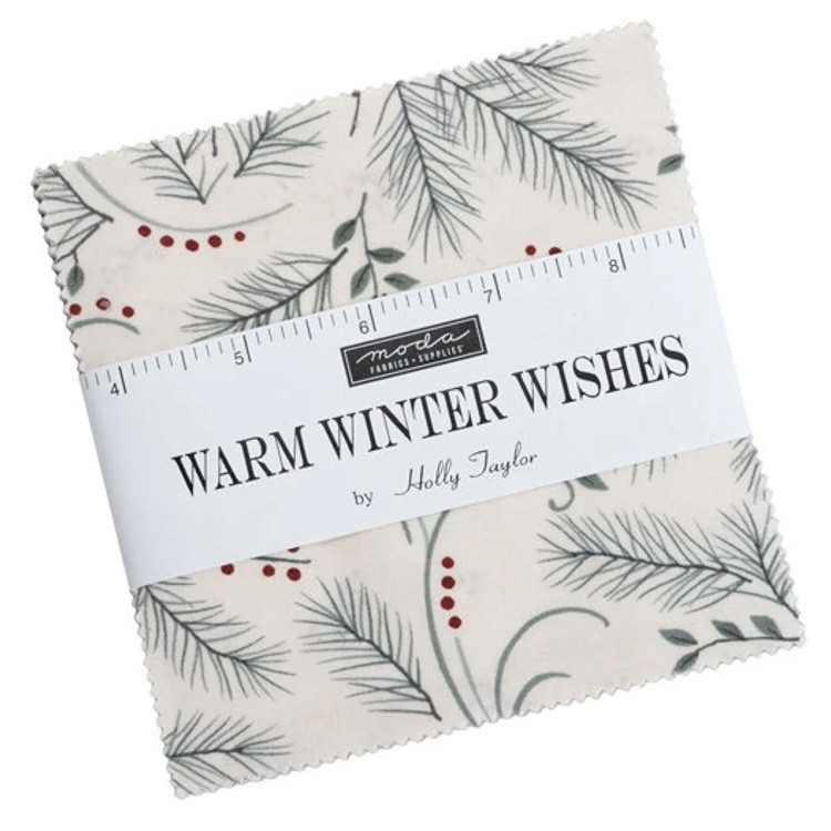 Charm pack - Warm winter Wishes by Holly Taylor