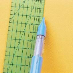 Crayon roulette craie bleu Clover