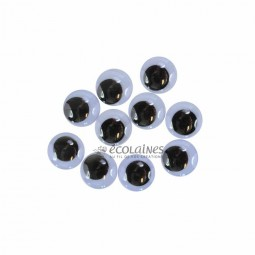 Yeux mobiles 15 mm