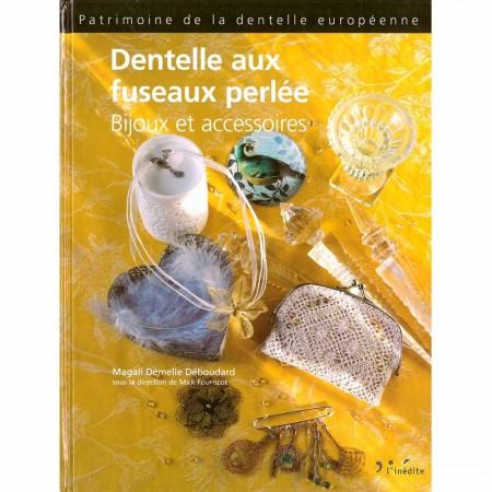 Livre : Dentelle aux fuseaux perlée
