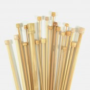 Aiguilles à tricoter bambou
