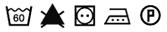 Pictogramme lavage fil aérolock