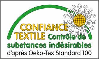 Certifié Oeko Tex